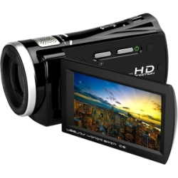 Bell & Howell DV3HD ZoomTouch 1080p HD High Definition Digital Video Camcorder