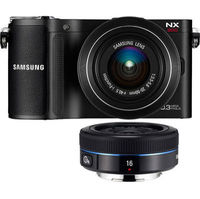 Samsung NX200 Digital Camera with 20-50mm lens