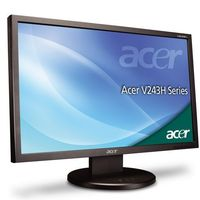 Acer V243HQ Ajbmd LCD Monitor