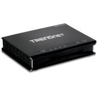 Trendware TRENDnet 4-Port ADSL 2/2+ Fast Ethernet/USB Combination Modem Router TDM-C504 (Black)