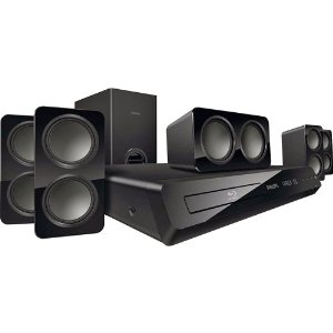 Philips HTS3541/F7 Home Theater System with Built-In Wi-Fi