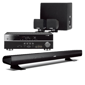 Yamaha YHT-494BL Home Theater System