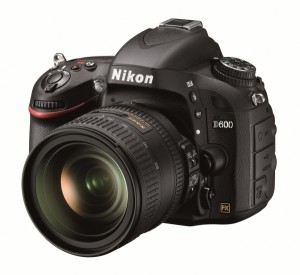 Nikon D600 Digital Camera with 24-85mm lens