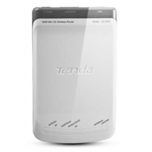 Tenda 150Mbps Portable 3G Router/AP/WISP Router/Wireless Router/LAN/WAN/WPS/USB Wireless (3G150M)