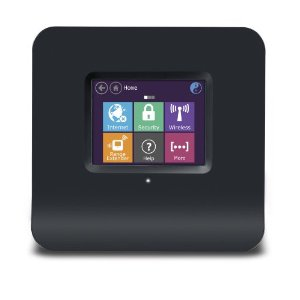 Securifi Almond - World\'s 1st Touch Screen Wireless N Router + Range Extender (Booster)