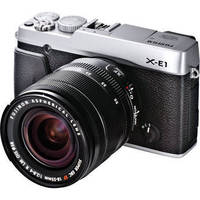 Fujifilm X-E1 Digital Camera with 18-55mm lens