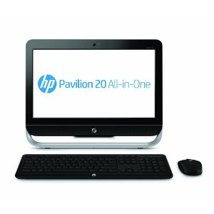HP Pavilion 20-b010 20-Inch All-in-One Desktop (Black)