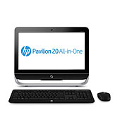 HP Pavilion 20-b013w All-in-One Desktop (Black)