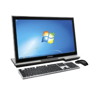 Samsung Series 7 DP700A3B-A02US 23-Inch All-in-One Desktop (Silver/Black)