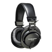 Audio - Technica ath-m35 Closed Back folding Dynamic Headphones