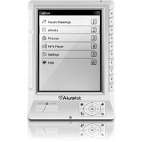Aluratek AEBK01WF eBook Reader