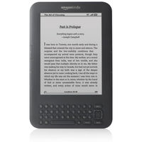 Amazon Kindle 3G Keyboard (3G / Wi-Fi) eBook Reader