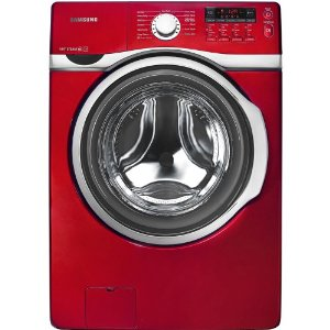 Samsung Tango Red 3.9 Cu Ft Steam Washer WF393BTPA