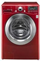 LG WM3070HRA 3.7 Cu. Ft. Wild Cherry Red Front Load Washer