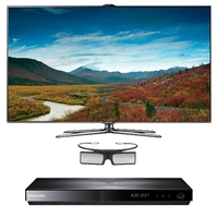"Samsung UN55ES7500 55"" 3D HDTV LED TV/HD Combo"
