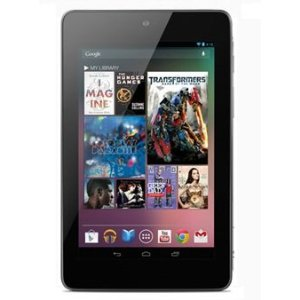 ASUS GOOGLE NEXUS 32GB 7 INCH BLACK ANDROID TABLET