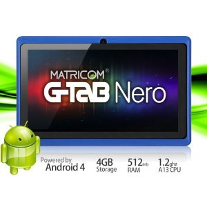 Matricom 7in G-Tab Nero Tablet