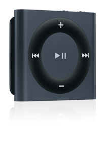 Apple Black iPod Shuffle 2 GB MP3 Player