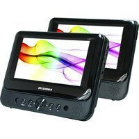 Sylvania SDVD8706 7 Dual-screen Portable DVD Player
