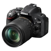 Nikon D5200 Digital Camera with 18-105mm lens