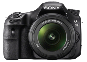 Sony SLT-A58K Digital Camera