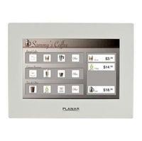 "Planar LT1201 12"" LED LCD Touchscreen Monitor"