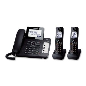 Panasonic KX-TG6672B Corded/Cordless Phone