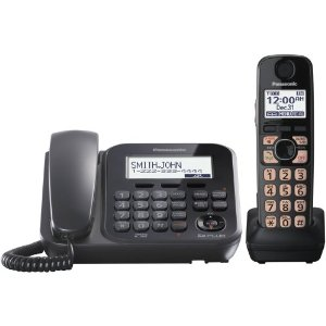 Panasonic KX-TG4771B 1-Handset 1-Line Landline Telephone