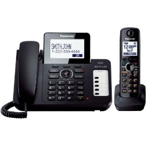 Panasonic KX-TG6671B Corded/Cordless Phone