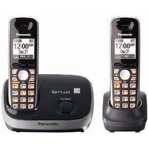 Panasonic KX-TG6512B Cordless Phone System