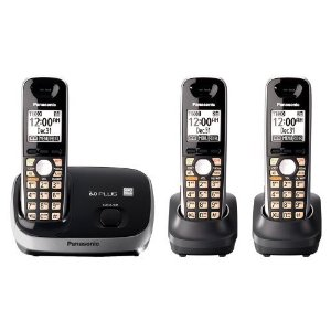 Panasonic KX-TG6513B Expandable Cordless Phone