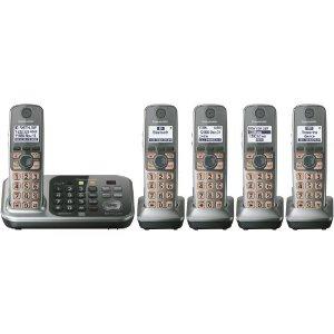 Panasonic KX-TG7745S Cordless Phone