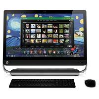 HP Omni 27-1054 27-Inch Desktop (Black)