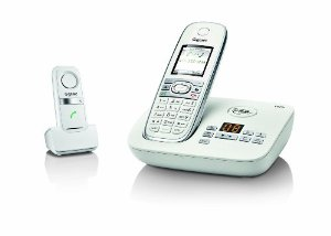 Siemens Gigaset C610A-L410 Cordless Phone and Hands-Free Clip