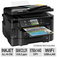 Epson WORKFORCE WF-3540 All-In-One InkJet Printer