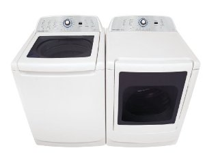 Frigidaire FAHE4044MW Top Load Washer & Electric Dryer