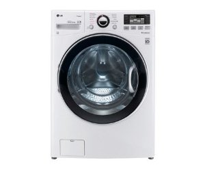LG TurboWash WM3470HWA Front-Load Washer