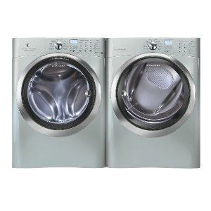 Electrolux Front Load Washer and Steam ELECTRIC Dryer EIFLS60LSS_EIMED60LSS