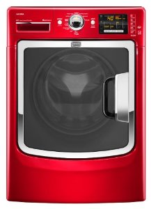 Maytag Maxima 4.3 Cu. Ft. Red Front Load Washer - MHW6000XR