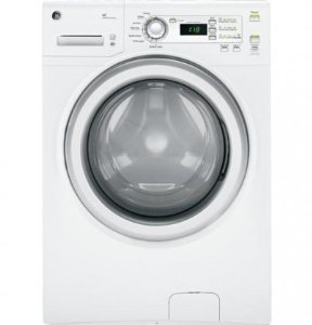 GE GFWH1200DWW 3.6 Cu. Ft. White Stackable Front Load Washer