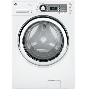 GE GFWS1500DWW Stackable With Steam Cycle Front Load Washer