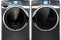 Samsung Front Load Washer & Steam ELECTRIC Dryer WF457ARGSGR DV457EVGSGR