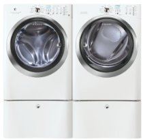 Electrolux IQ Touch Washer & Dryer EIFLS60JIW_EIMED60JIW_EPWD15IW