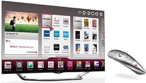 LG 55LA6900 55-In Cinema Screen Cinema 3D 1080p LED-LCD HDTV