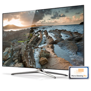 Samsung UN55F7500 55-In 1080p 3D Ultra Slim Smart LED HDTV