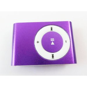 Afunta Mini Metal Clip Mp3 Player