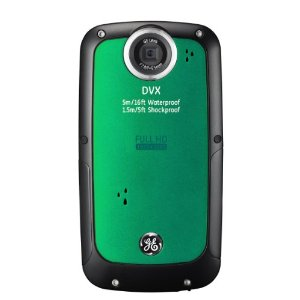 GE DVX EG3 Waterproof/Shockproof 1080P Pocket Video Camera