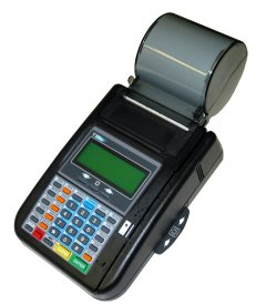 Hypercom T7 Plus Terminal/Printer