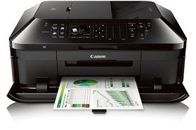 Canon PIXMA MX722 Wireless Inkjet Office-All-In-One Printer