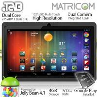 Matricom TAB Nero x2 Android 4.1 Multi-Touch Tablet